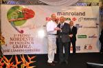 Marcelo Moraes (Agfa) recebe prêmio NE de Excelência Gráfica