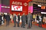 Stand da Agfa na Drupa 2012