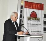 Karl Klökler durante apresentação da ExpoPrint Latin America na Drupa 2012