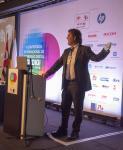 Germán Sacristán na II Conferência Internacional de Impressão Digital Gedigi-Abigraf